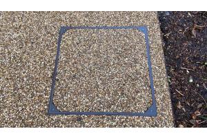 Resin Bound Stone Recessed Trays