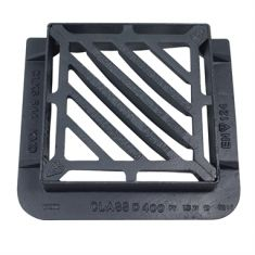 415 x 415 x 100mm D400 Double-Triangular Gully Grating (Price on Application)