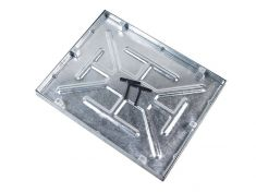 600 x 450 x 43.5mm Water & Odour Tight Recessed Manhole Cover