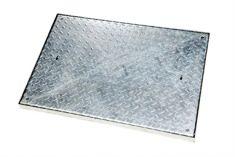 900 x 600 x 50mm Sealed & Locking 5 Tonne GPW Chequer Plate