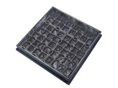 600 x 600 x 80mm EcoGrid Grass & Gravel Recessed Manhole Cover