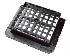 430 x 370 x 100mm D400 End Hinged Mesh Gully Grating (Price on Application)