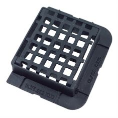 336 x 308 x 100mm C250 End Hinged Mesh Gully Grating (Price on Application)