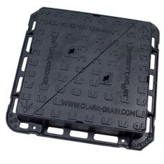 600 x 600 x 100mm D400 Double-Triangular Ductile Iron Manhole Cover (Price On Application)