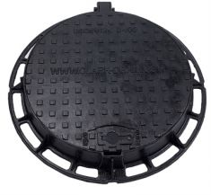 600 x 100mm D400 Ductile Iron Manhole Cover (Price on Application)