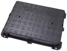 600 x 450 x 75mm B125 Ductile Iron Manhole Cover