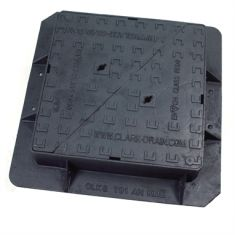 600 x 600 x 150mm High Max E600 Double-Triangular Ductile Iron Manhole Cover - Highways Agency Compliant (Price on Application)