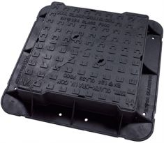675 x 675 x 150mm High Max F900 Double-Triangular Ductile Iron Manhole Cover - Highways Agency Compliant (Price on Application)