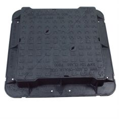 750 x 750 x 150mm High Max F900 Double-Triangular Ductile Iron Manhole Cover - Highways Agency Compliant (Price on Application)