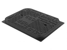 600 x 450 x 40mm B125 Ductile Iron Manhole Cover and Frame - CD 762 KMB Alternative