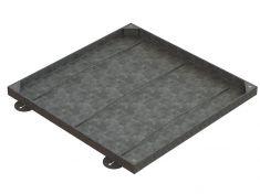 750 x 750 x 43mm Sealed & Locking Recessed Manhole Cover - T31G3 Alternative