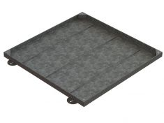 900 x 900 x 43mm Sealed & Locking Recessed Manhole Cover