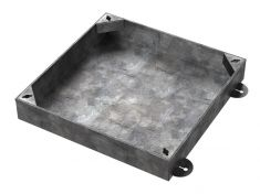 300 x 300 x 60mm Recessed Manhole Cover For Patios, Driveways, Block Paving & Flagging