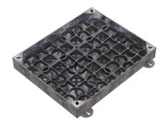 750 x 600 x 100mm EcoGrid Grass & Gravel Recessed Manhole Cover