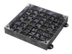 750 x 750 x 100mm EcoGrid Grass & Gravel Recessed Manhole Cover