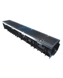 Pallet of 88nr Liberty Drain F900 Polypropylene Channel Drain 1m Length = 88 Linear Metres