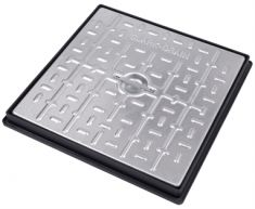450 x 450 x 45mm 5 Tonne GPW Solid Top Manhole Cover - POA