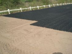 Premium Grade Complete 30 x 40m Ecogrid & Geotextile Horse Arena / Horse Manege (Menage) Package - Free Delivery