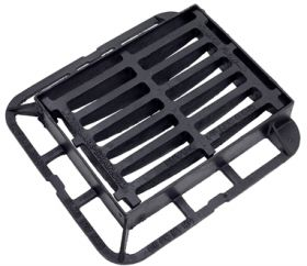 440 x 335 x 75mm C250 End Hinged Gully Grating