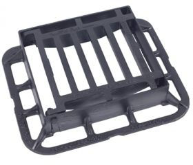 336 x 308 x 75mm C250 End Hinged Gully Grating (Price on Application)