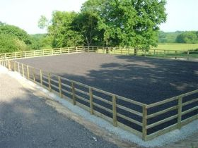 Prestige 20 x 40m Commercial Horse Arena / Horse Manege (Menage) Geotextile Package 200gsm - Price on Application