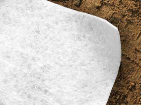 Multitrack SNW40 White Non-Woven Geotextile Fleece Membrane 1 Roll 5.25 x 100m (525sqm) - 300gsm