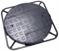 600mm x 40mm B125 Ductile Iron Manhole Cover