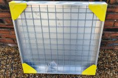 TSL-Pro-Line 700 x 700 x 61mm Triple Sealed Aluminium Recessed Manhole Cover - Clearance