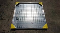 DS-Line 1000 x 1000 x 48mm Double Sealed Aluminium Recessed Manhole Cover - Clearance