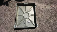 600 x 450mm x 80mm Recessed Manhole Cover - Clearance