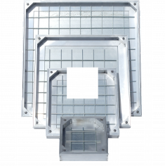 TSL-Pro-Line Triple Sealed Aluminium Recessed Manhole Cover, 80mm Depth - ALL SIZES, FREE EXPRESS DELIVERY