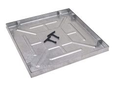 600 x 600 x 43.5mm Water & Odour Tight Recessed Manhole Cover