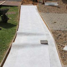 EG80 EcoGrid Geotextile Membrane Non-Woven Geotextile Fleece Membrane 4.5 x 100m (450sqm) Terram Advantage Equivalent - 80gsm