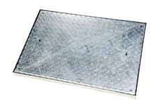 900 x 600 x 50mm Sealed & Locking 5 Tonne GPW Chequer Plate