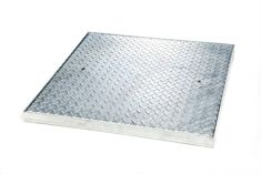 900 x 900 x 50mm 5 Tonne GPW Chequer Plate