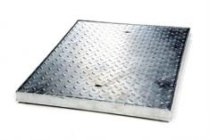 750 x 600 x 50mm Sealed & Locking 5 Tonne GPW Chequer Plate