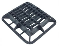 390 x 315 x 100mm C250 Dished, Hinged & Locking Gully Grating (Price on Application)