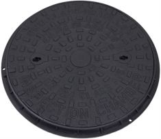 450 x 32mm A15 Cast Iron Manhole Cover (Price on Application)
