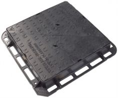 675 x 675 x 100mm D400 Double-Triangular Ductile Iron Manhole Cover (Price on Application)