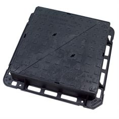 675 x 675 x 150mm D400 Double-Triangular Ductile Iron Manhole Cover