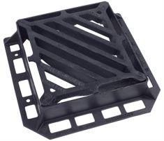 440 x 400 x 100mm D400 Double-Triangular Gully Grating (Price on Application)