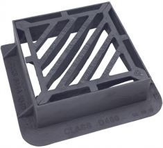 415 x 415 x 150mm D400 Double-Triangular Gully Grating (Price on Application)