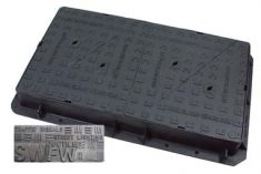 1200 x 675 x 150mm D400 Multi-Triangular Ductile Iron Manhole Cover - Foul or Storm Water Badging (Price on Application)
