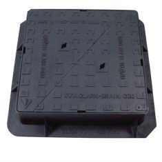 600 x 600 x 150mm D400 Double-Triangular Ductile Iron Manhole Cover - Highways Agency Compliant