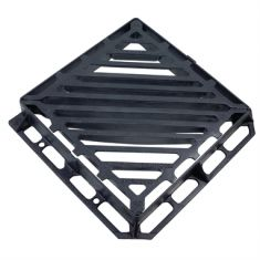 600 x 600 x 100mm D400 Double-Triangular Gully Grating (Price on Application)