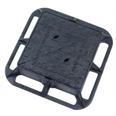 300 x 300 x 100mm D400 Double-Triangular Ductile Iron Manhole Cover (Price on Application)