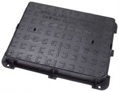 600 x 450 x 75mm B125 Ductile Iron Manhole Cover