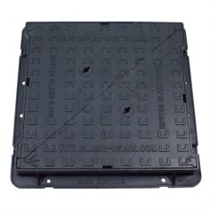 675 x 675 x 100mm High Max D400 Double-Triangular Ductile Iron Manhole Cover - Highways Agency Compliant (Price on Application)