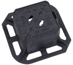 150 x 150 x 100mm Grade A Double-Triangular Surface Box