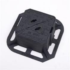 150 x 150 x 100mm Grade A Double-Triangular Surface Box - Badged W